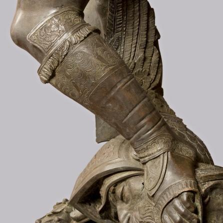 _29 Museo del Bargello, Donatello, David, calzari Davidph. © A. Quattrone