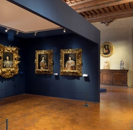 Palazzo Davanzati_Ritratti nella mostra Bellezza e nobili ornamenti