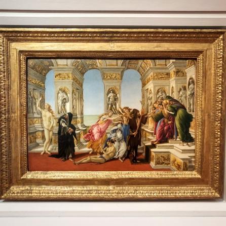 Botticelli, La Calunnia