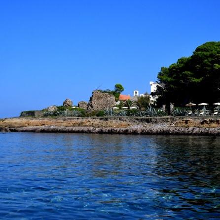 2 Punta Licosa Villa Sirena Private estate view from the sea