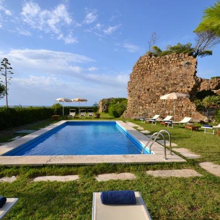 4 Punta Licosa Villa Sirena Private pool (1)