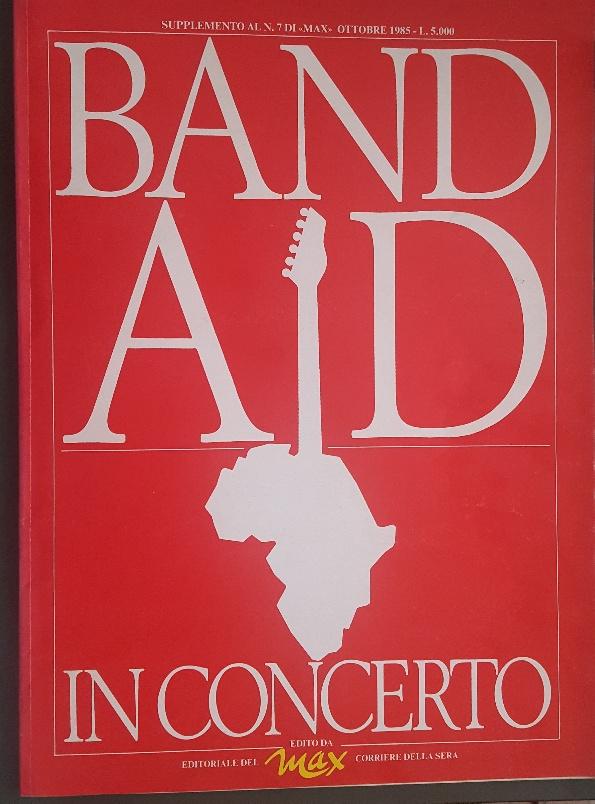 BAND AID fascicolo 1985