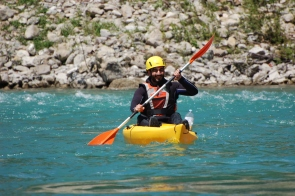 Kayak nel Parco Avventura Val Trebbia, Fontana, Coli (Piacenza)