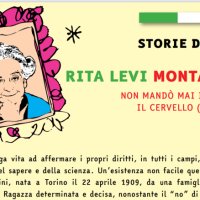 """RITA LEVI MONTALCINI, VITA STRAORDINARIA NARRATA ANCHE IN """"ITALIANI O IT-ALIENI?"""""""